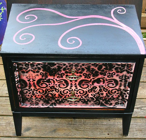 2 Drawer Nightstand by Rick Cheadle Art and Designs