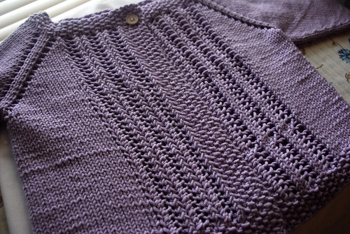 Anna's Easter Cardigan