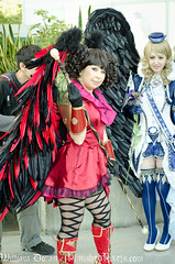 SakuraCon 2011 - Costume - Aion Winged Ladies (William Doran) Tags: seattle anime washington costume wings cosplay manga angels convention wa sakuracon