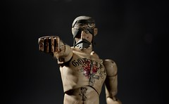 Fighting JC (dangercorpse) Tags: toy actionfigure doll 3a 16 jesuschrist ashleywood threea adventurekartel fightingjc