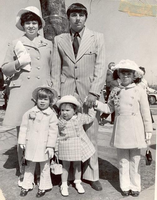 kim old family photo