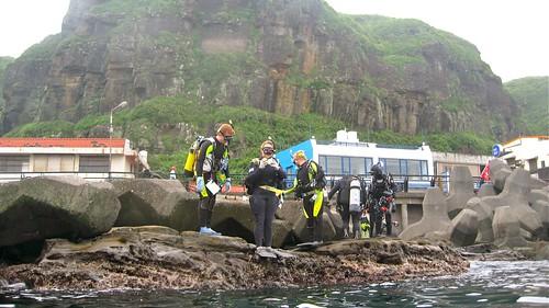 Scuba Diving Bitou Cape, Taiwan