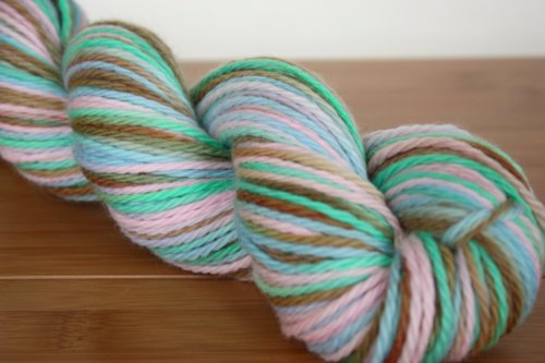 Freedom to choose ~ Custom Dye on Bliss Organic Merino