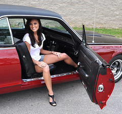 "1968 Cougar Photo Shoot With Kara • <a style=""font-size:0.8em;"" href=""http://www.flickr.com/photos/85572005@N00/5663558458/"" target=""_blank"">View on Flickr</a>"