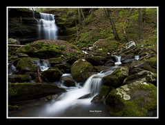Big Branch Beauty (Brent McGuirt Photography) Tags: new west river virginia waterfall big branch gorge cascade