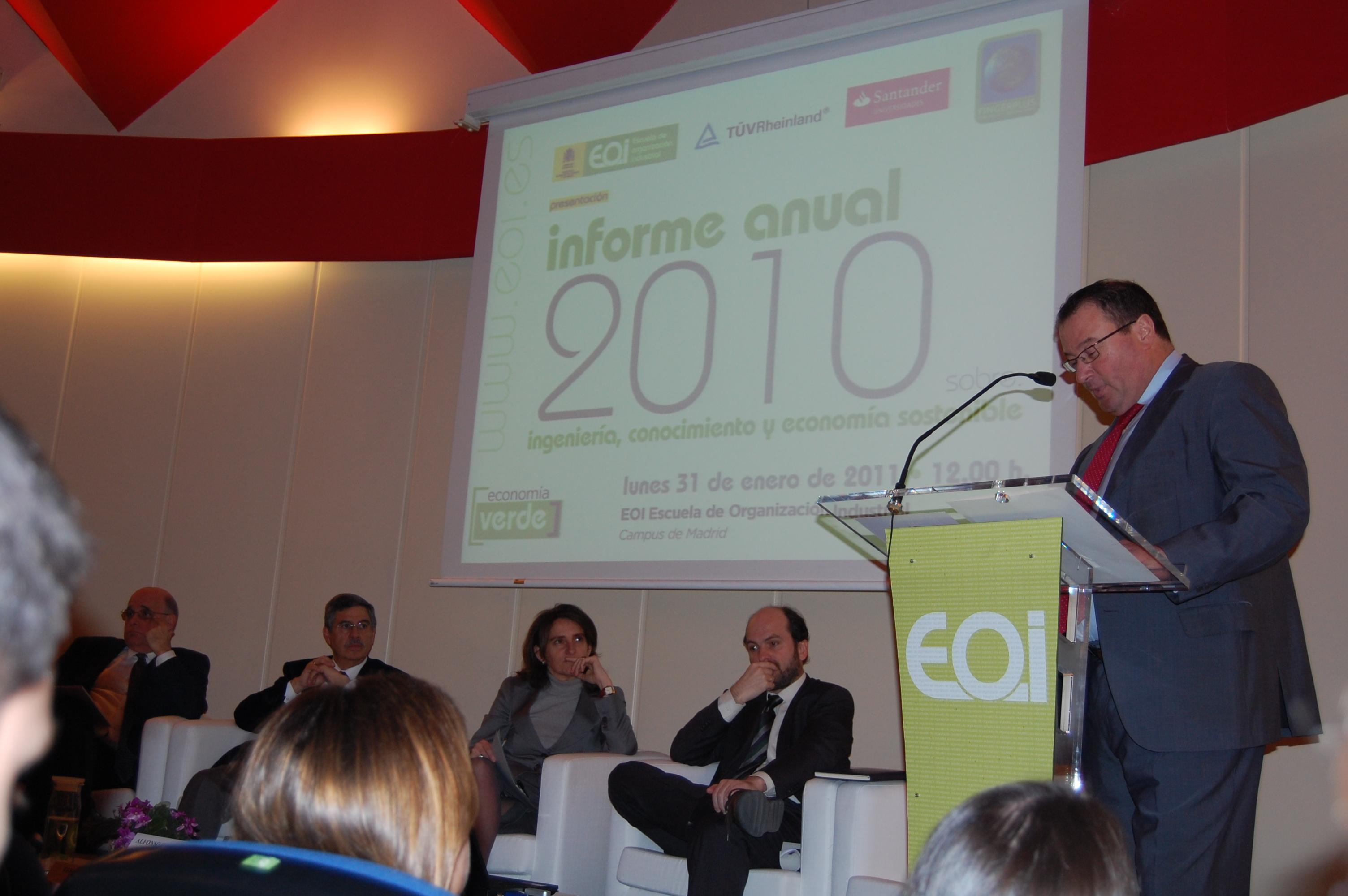 Presentación Informe FINGERPLUS 2011