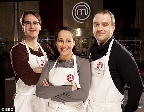 The 2011 MasterChef Finalists - Tim, Sara, Tom