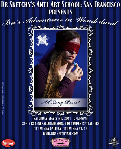 Dr Sketchy's SF presents Bee's Adventures in Wonderland