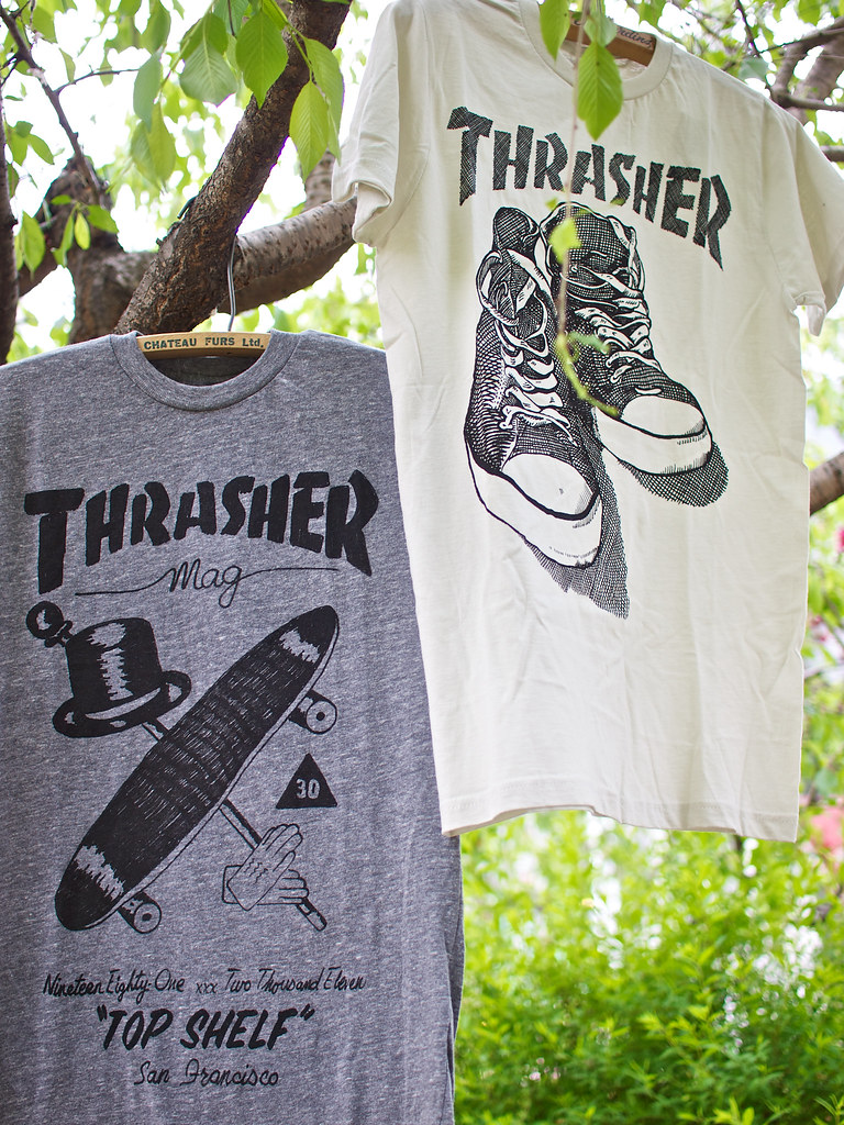 "ALTRU x THRASHER / ""TOP SHELF"" Tee"