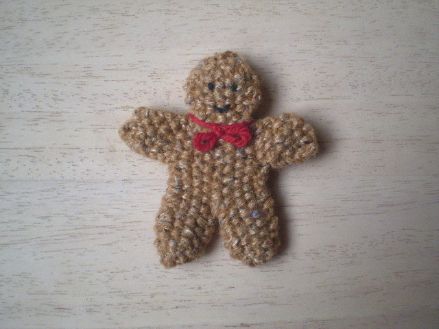 Ravelry Gingerbread Man Pattern By Frankie Brown