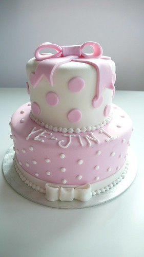 Baby Christening Cake Ideas from Inspired By Michelle Cake