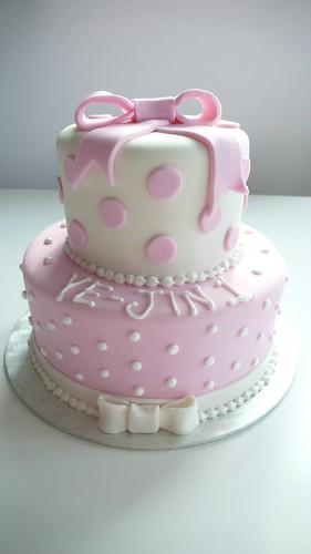 CAKE Amsterdam 1st Birthday Cake Baby Girl