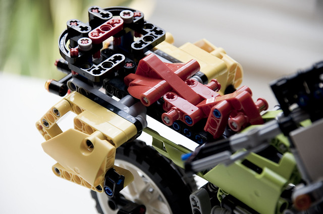 TT1000G (Lego): maletas