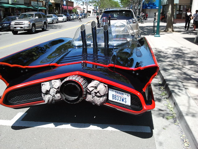 Batmobile - rear