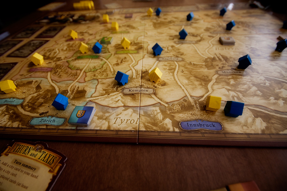 My Day 1/31:  Thurn and Taxis