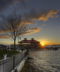 Sunset at Boathouse