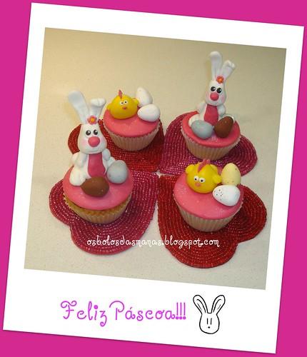 Cupcakes dia de Páscoa by Osbolosdasmanas