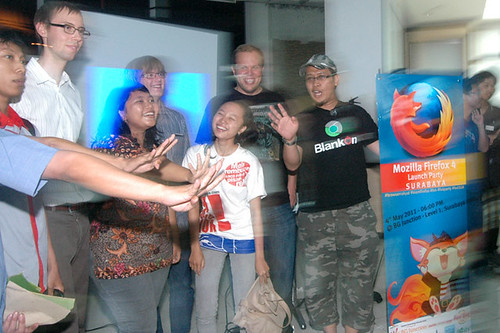 Firefox 4 Launch Party @ BG Junction Surabaya