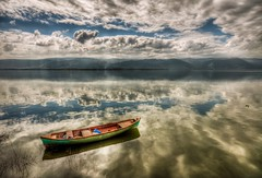 On the clouds (Nejdet Duzen) Tags: trip travel cloud lake turkey boat trkiye sandal apollonia bursa bulut apollon gl turkei seyahat uluabatlake glyaz uluabatgl theperfectphotographer saariysqualitypictures mygearandme