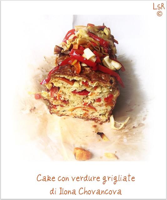 Cake con verdure grigliate