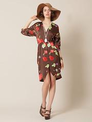 disco flower dress