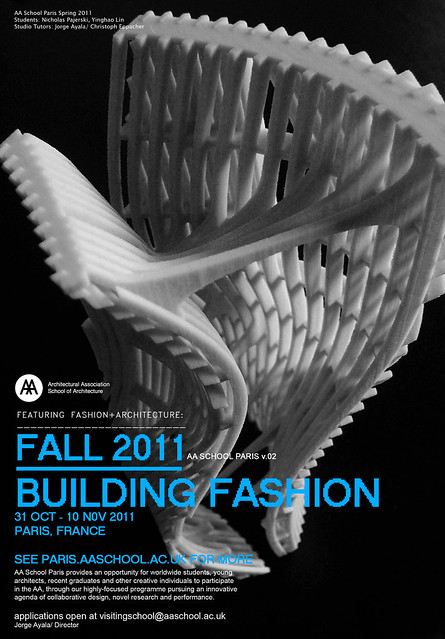 #buildingfashion_ aa school paris_ fall 2011
