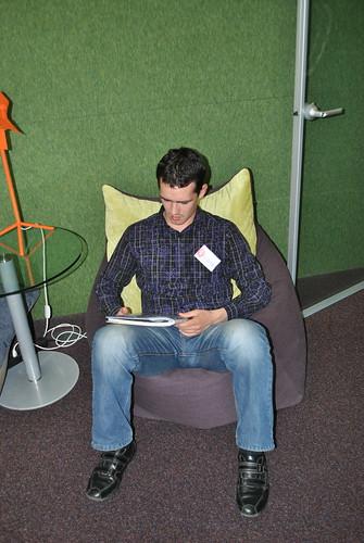 Терехов в библиотеке Яндекса
