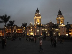 Catedral de Lima at Dusk