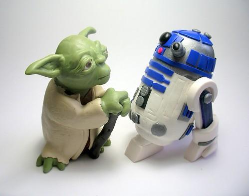 Yoda and Artoo