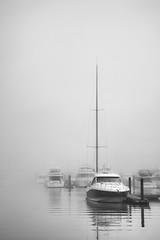 Watercolor (jrobfoto.com) Tags: 5dmarkii boats canon chicago eos fog fullframe jonathanrobsonphotographycom lake raw water