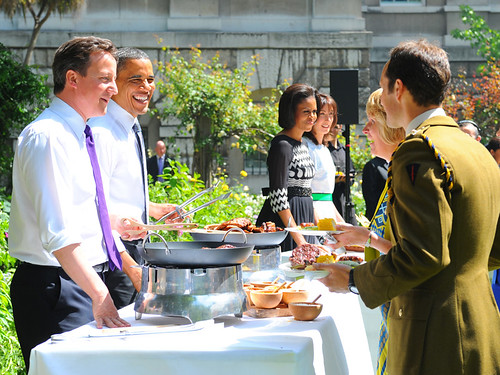 Downing Street BBQ by The Prime Minister's Office