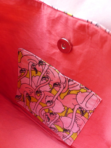 Pink Flamingo Buttercup Bag