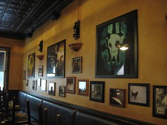 Jolly Pumpkin Artwork (SimplP) Tags: travel beer mi brewing pumpkin anne restaurant artwork michigan arbor brewery destination tasting jolly sour brewpub brewer