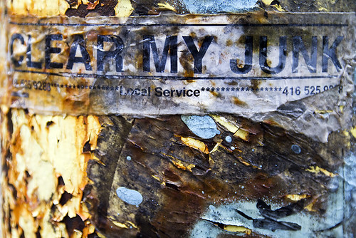 Clear my Junk by -- brian cameron --