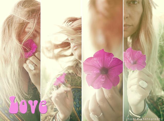 [318/365] Flower Power ~ LOVE