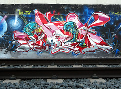 INCA  _____STylE_AlienS_ (SRCARAMELOS) Tags: new inca de tren toys one graffiti spain alicante wc satan hunter sez graff eds nueva th nuevo vias kies enviado 2011 novedad 2k11