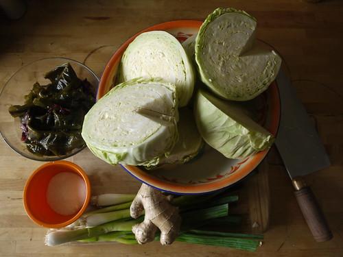 seaweed sauerkraut ingredients
