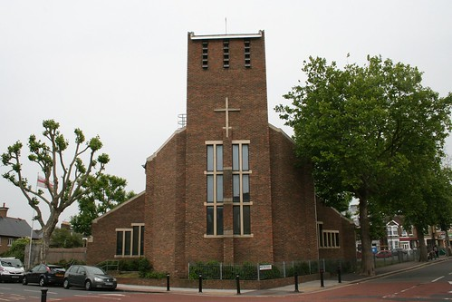 The modern day St Antholin Church.