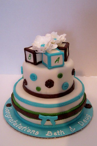 Baby Shower Cake by Cake Maniac