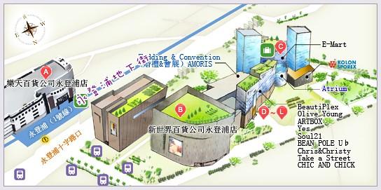 116 永登浦地圖