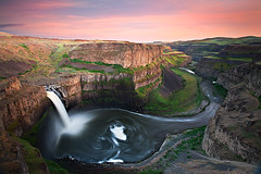 Palouse Falls Sunset (KPieper) Tags: sunset waterfall washington canyon palousefalls kpieper 5d2
