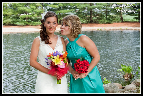 Emily & her Maid of Honor