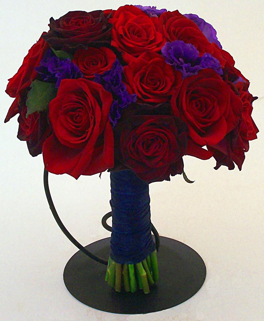 Sparks Florist Wild About Roses Bridal Bouquet