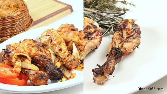 Day 175 - Tandoori Chicken and Aromatic Buttermilk Chicken Legs