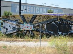 Seper Swerv (404 o) Tags: graffiti oakland lol sp sw amc bhp wkt swerv seper