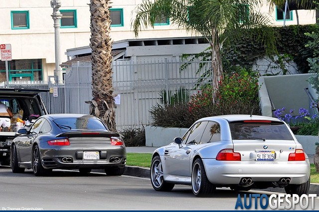2000 M Coupe | Titanium Silver | Spotted in Santa Monica