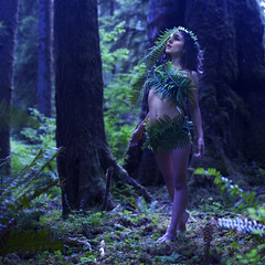 new life (brookeshaden) Tags: life trees forest moss rainforest growth ferns discovery nymph brookeshaden