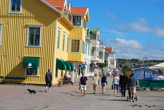 Paseo marítimo de Marstrand