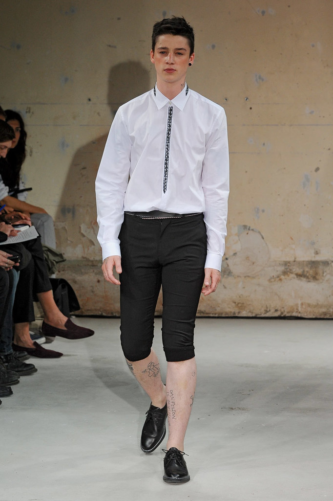 SS12 Paris Christian Lacroix002_Ash Stymest(Homme Model)