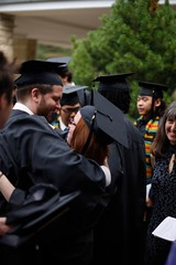 Commencement - 16 (Principia School) Tags: male college senior smiling female outdoors student hugging graduation chapel indoors administration alumni faculty academic thegreen coxauditorium